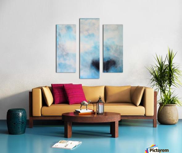 Naples Blue III Canvas print