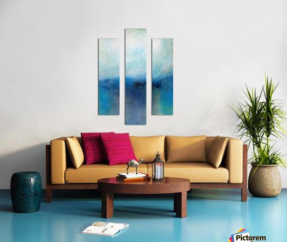 No Surrender Blue III Canvas print