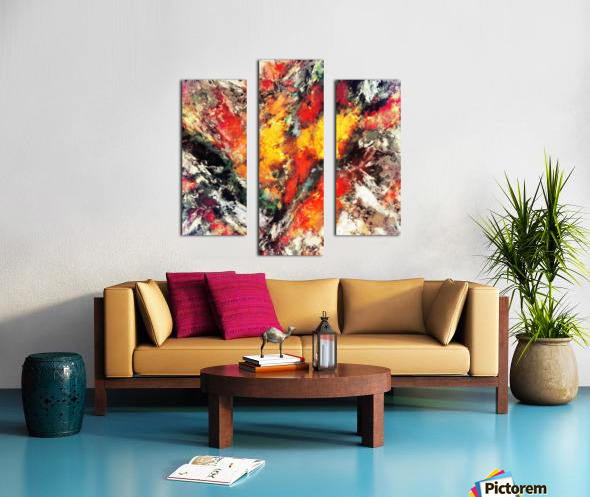 Clattering Impression sur toile
