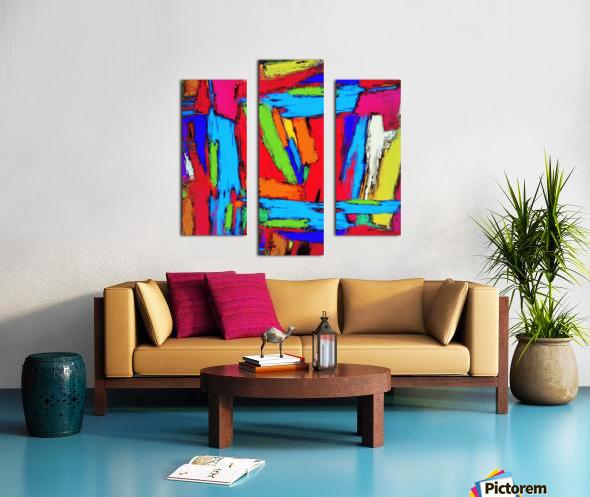 Crusher Canvas print