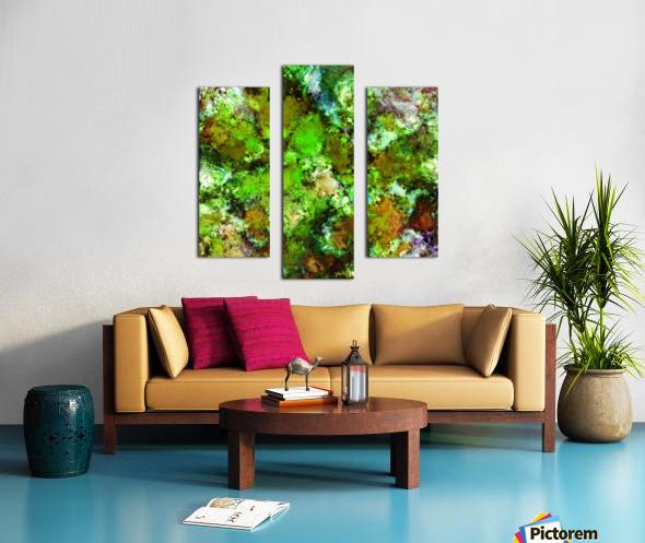 Green scene Impression sur toile