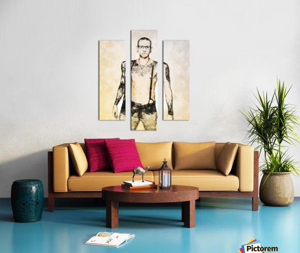 Chester Bennington Canvas print