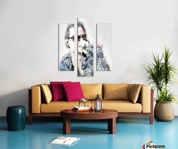 Chester Bennington Linkin Park Canvas print