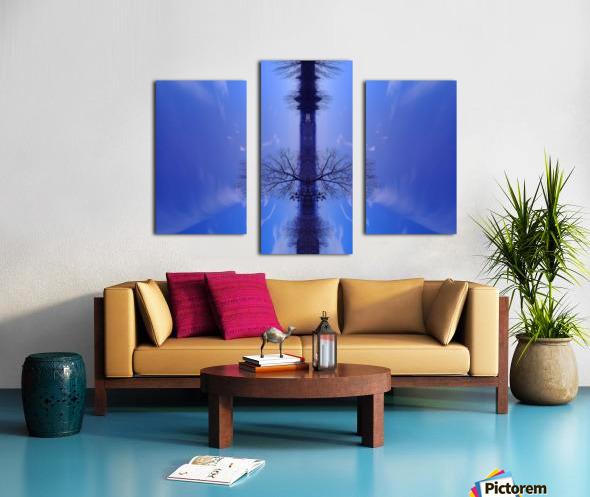 Cloudes 100 Canvas print