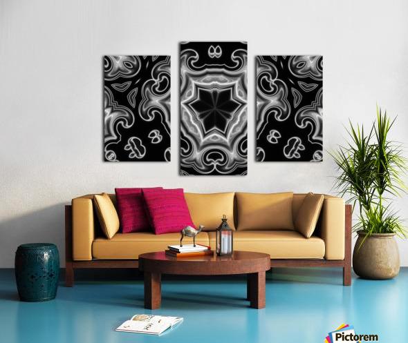 Abstract digital Art Canvas print