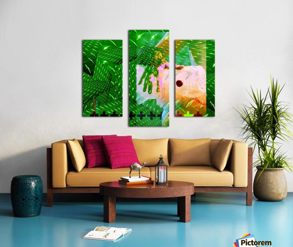 TUTU SMALL WORLD Canvas print