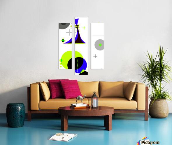 MATH 3 Canvas print