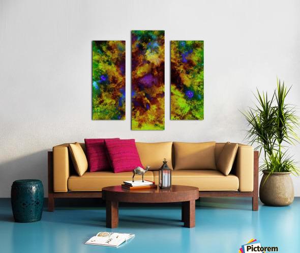 Background noise Canvas print