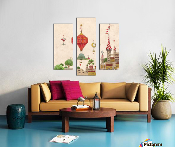 Tartlellino Balloone Canvas print