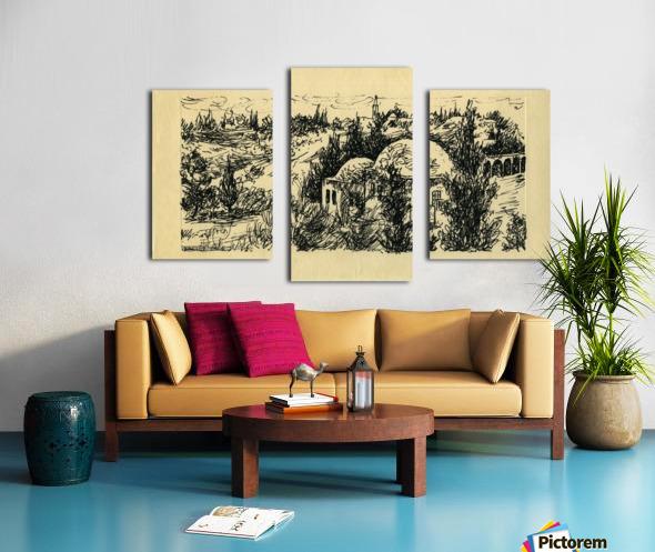 BNC1967-029 Impression sur toile