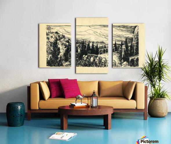 BNC1967-07 Impression sur toile