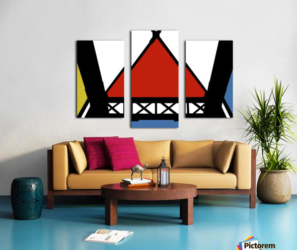 Bridge XII Canvas print