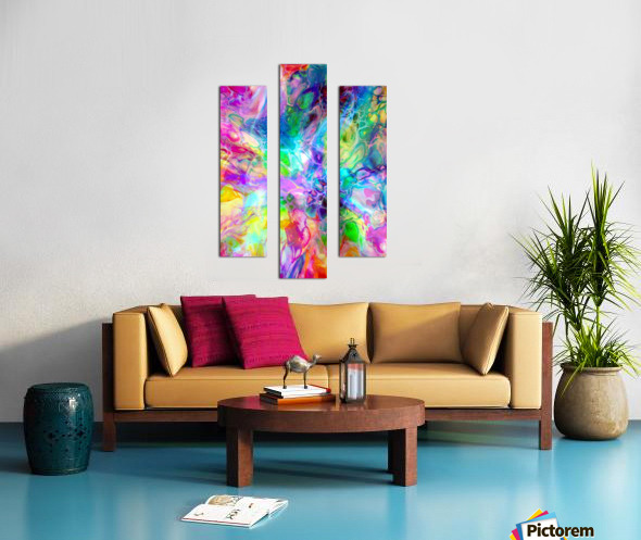 TRANSPARENCIES 4 Canvas print