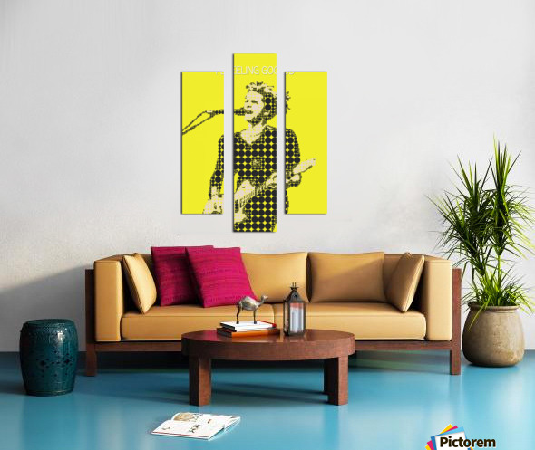 Feeling Good   Matt Bellamy Canvas print