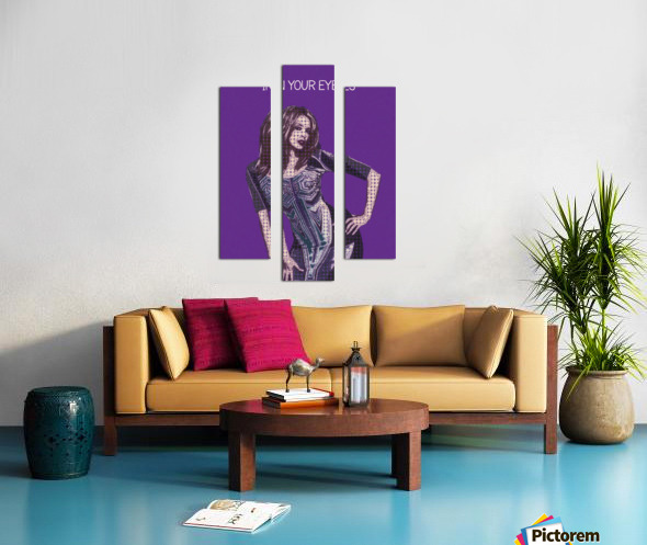 In Your Eyes   Kylie Minogue Canvas print