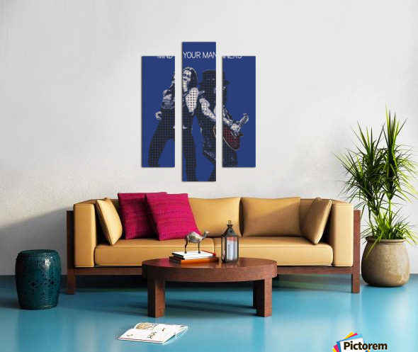 mind your manners   Slash ft Myles Kennedy The Conspirators Canvas print
