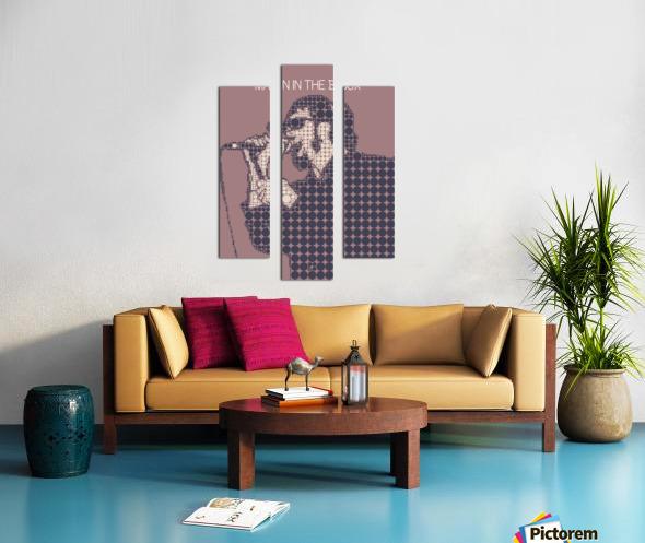 Man in the Box   Layne Staley Canvas print