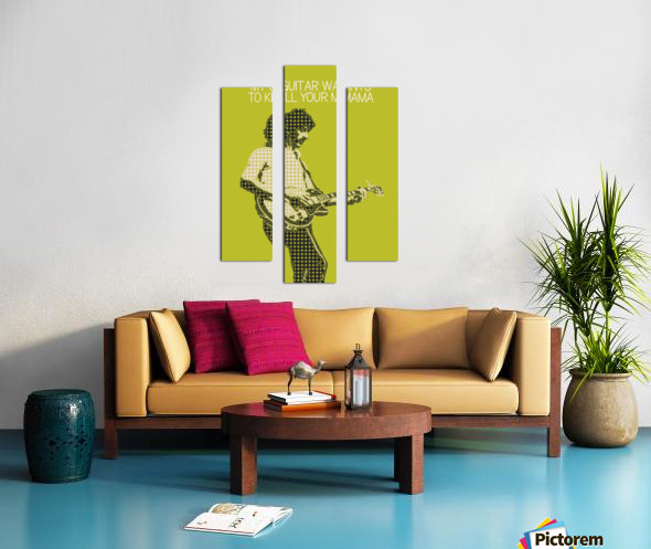 My Guitar Wants To Kill Your Mama   Frank Zappa Canvas print