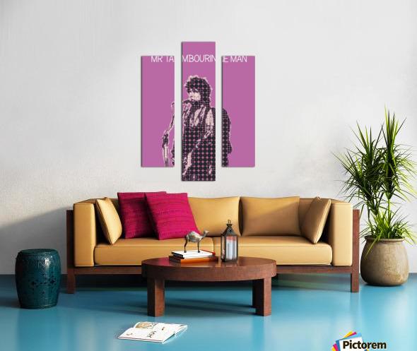 Mr Tambourine Man   Bob Dylan Canvas print