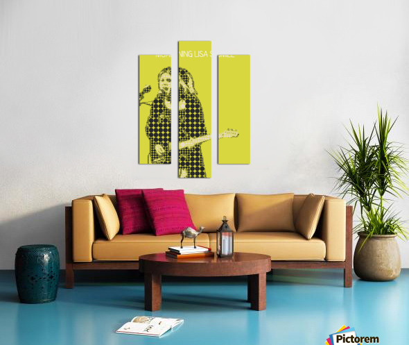 Moaning Lisa Smile   Wolf Alice Canvas print
