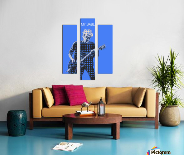 My Babe   Keith Richards Canvas print