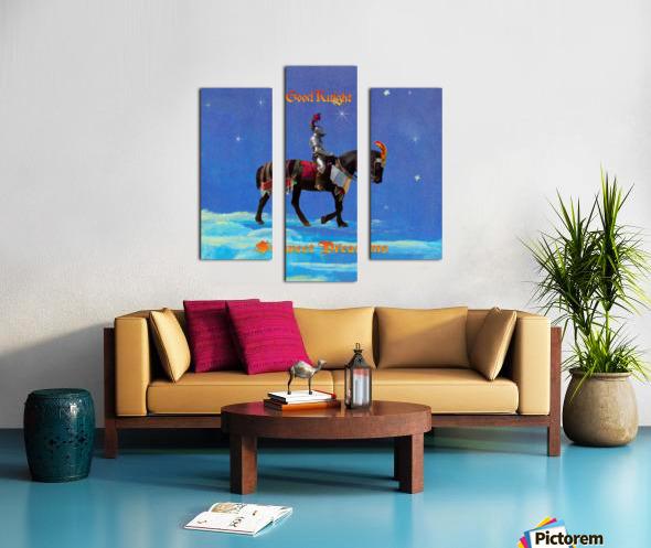 Good Knight  Sweet Dreams Canvas print