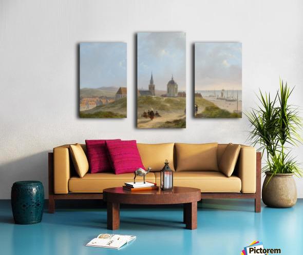 View on Scheveningen Canvas print