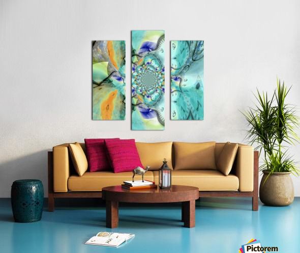 Infinite Vibes Canvas print