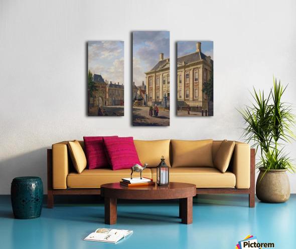 Het Mauritshuis te Den Haag Canvas print