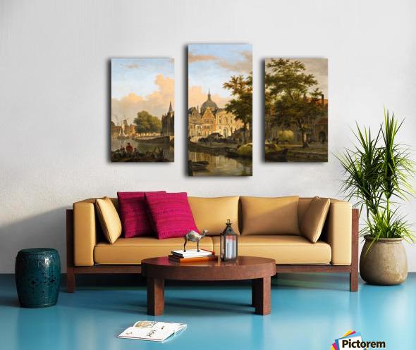 View of a Dutch City Canvas print