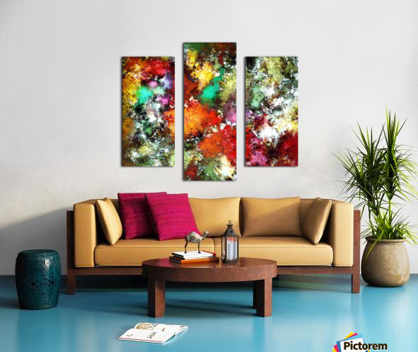 Ramble Canvas print