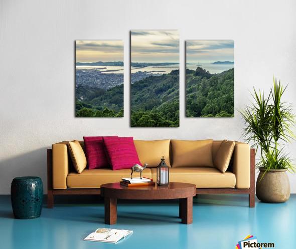 San Francisco Skyline From Berkeley  Canvas print