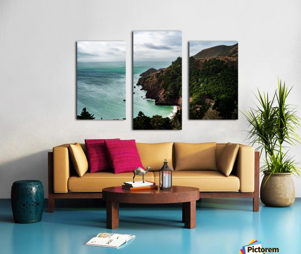 Kirby Cove Canvas print