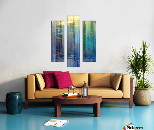 Lakeside Intrigue Canvas print