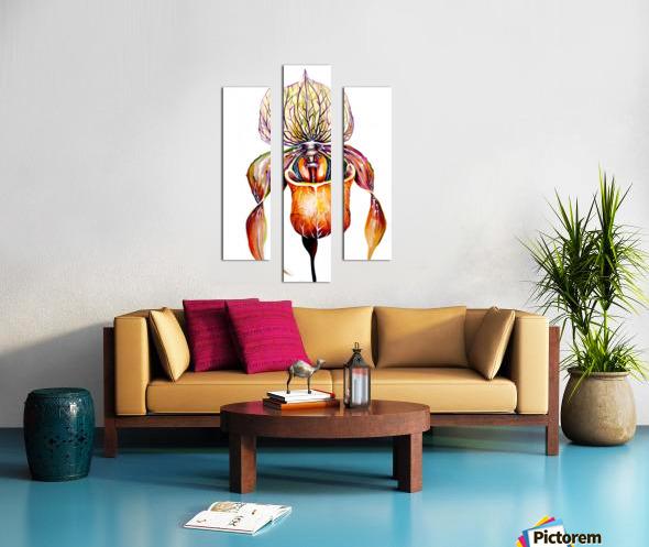 Orchid Venus Slipper Canvas print