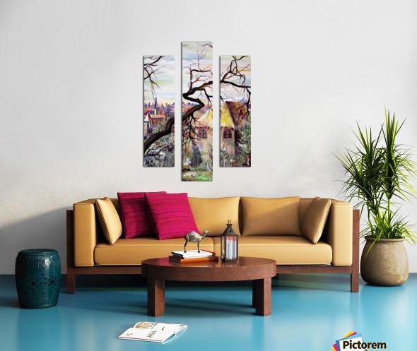 French Provenance Bohemian View Canvas print