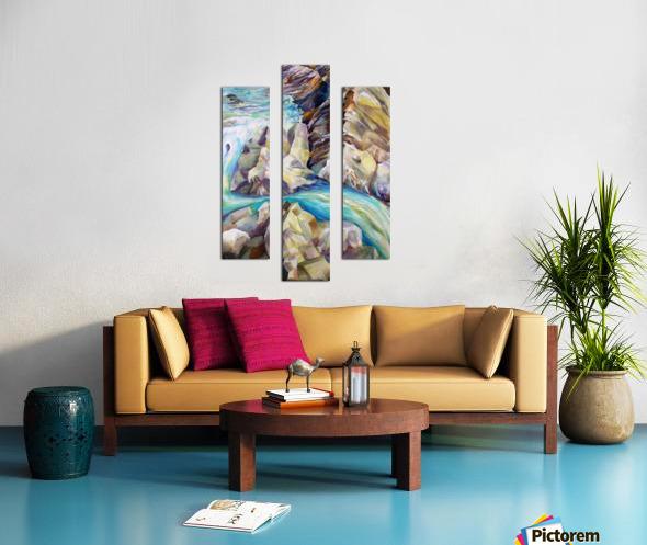 Rocky Mountains Crystel River Colorado Canvas print