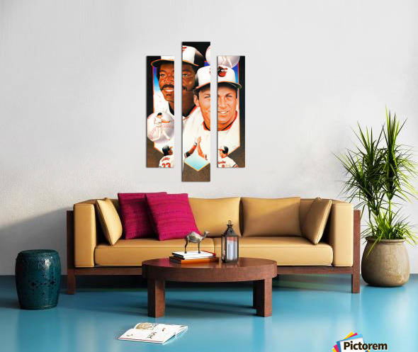 baltimore orioles cal ripken jr art Canvas print