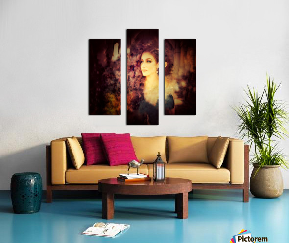 Countenance of Virtue Canvas print