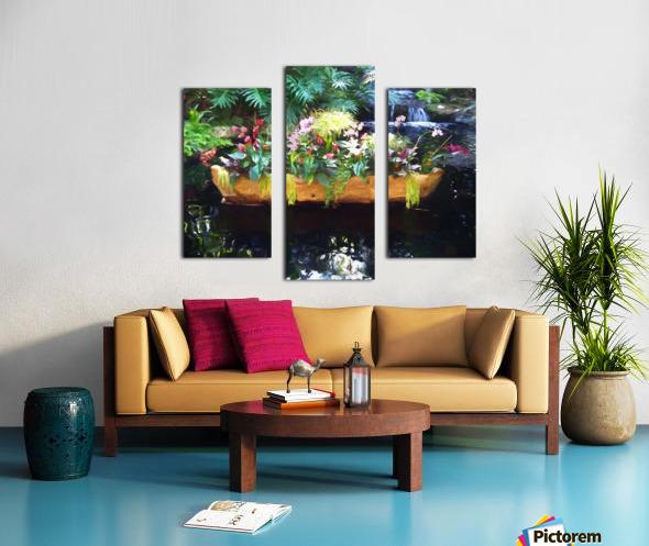 Floating Botanicals Canvas print