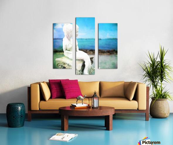 MermaidLisa Canvas print