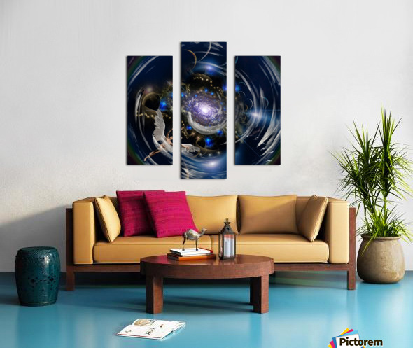 Angel in Tunnel Canvas print