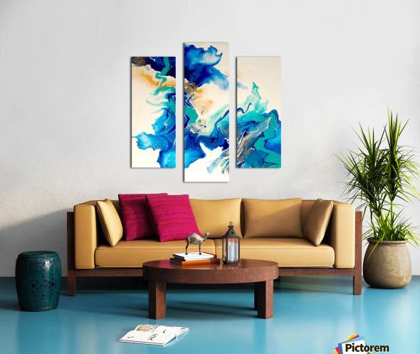 Ocean_Blue_II Canvas print