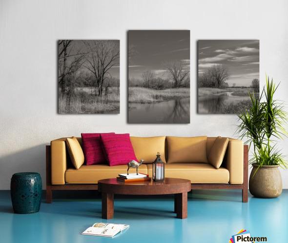 Varennes Canvas print