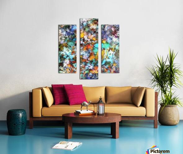 Suspension Canvas print