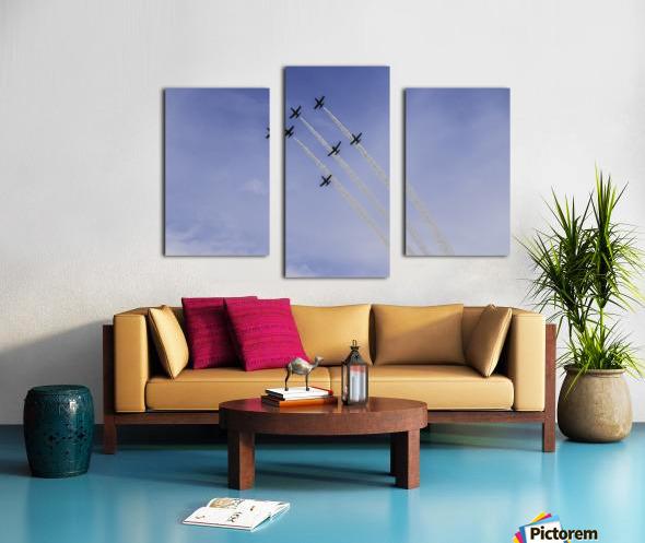 JET PLANES EXHIBITION Canvas print