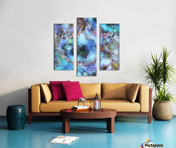 Tangled air Canvas print