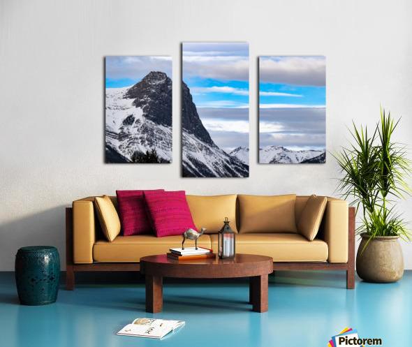 Ha Ling Mountain  Canvas print