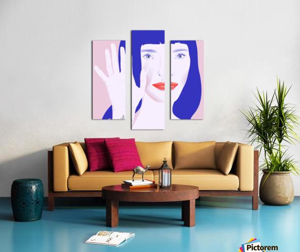 POGO MOOD Canvas print