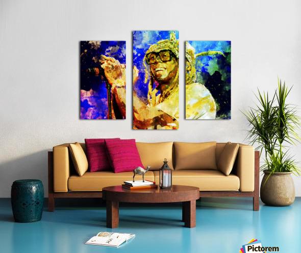 3 Impression sur toile